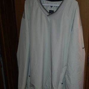 Nike Golf tan pullover.....AWESOME.....
